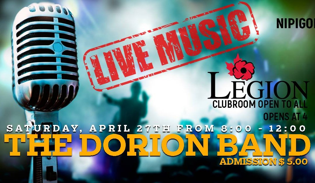 The Dorion Band – April 27th